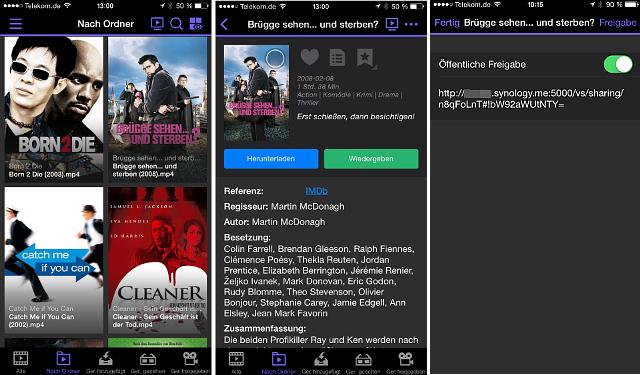 DS Video App von Synology
