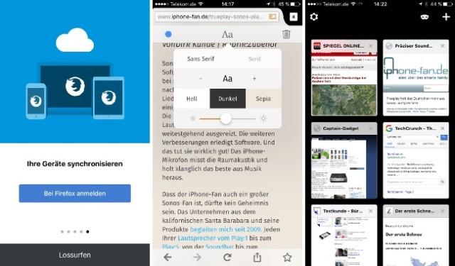 Firefox iOS iPhone
