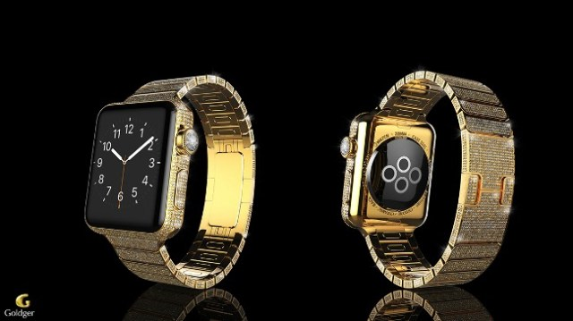 Apple Watch Gold Diamanten