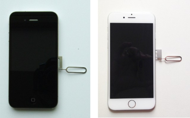 Sim Karte In Iphone 4 5 Und 6 Einlegen Iphone Fande