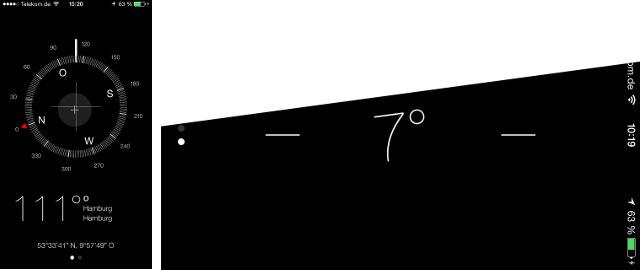 eine bunte sache dieses ios 7 auf dem iphone iphone fan. Black Bedroom Furniture Sets. Home Design Ideas