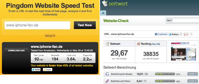 Pulsmessung der Seite iPhone-Fan.de