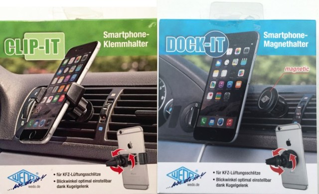 Wedo Dock-IT und Clip-IT Verpackungen
