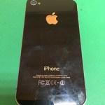 【修理実績No.268】iPhone4Sのバックパネル交換