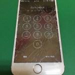 【修理実績No.275】iPhone6のフロントパネルガラス割れ