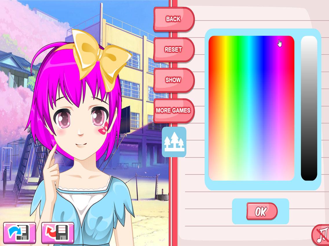 girls anime avatar creator
