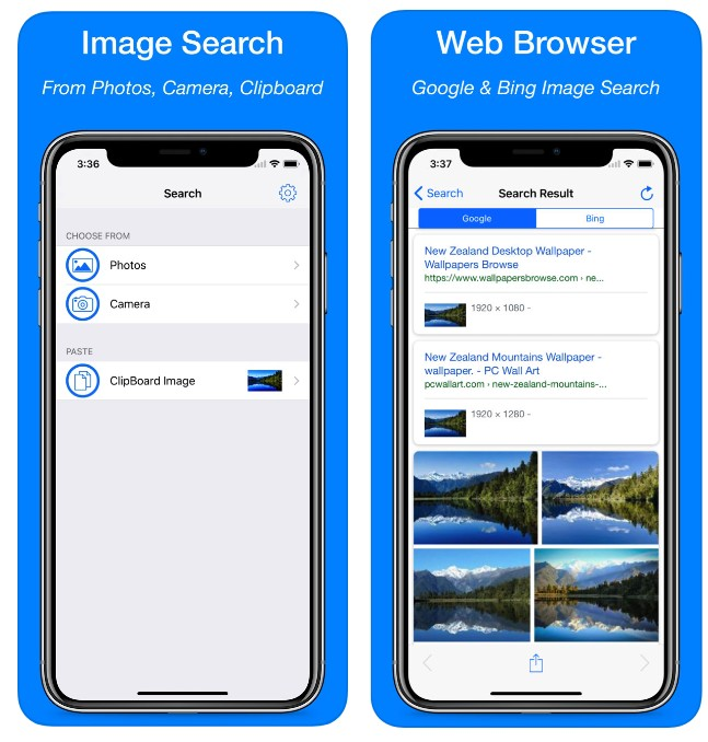 تحميل تطبيق Reverse Image Search App للحصول على معلومات و مصادر الصور - للآيفون - مدونة ايفونك |أفضل تطبيقات وألعاب آيفون 2020