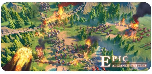 ﻟﻌﺒﺔ الحروب الأسطورية Rise Kingdoms