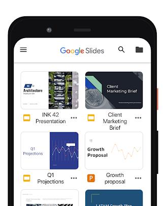 تحميل Google Slides للايفون