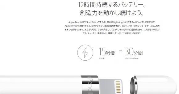 Apple Pencil、わず15秒間の充電で30分も稼働する驚愕のスペックだった - iPhone Mania