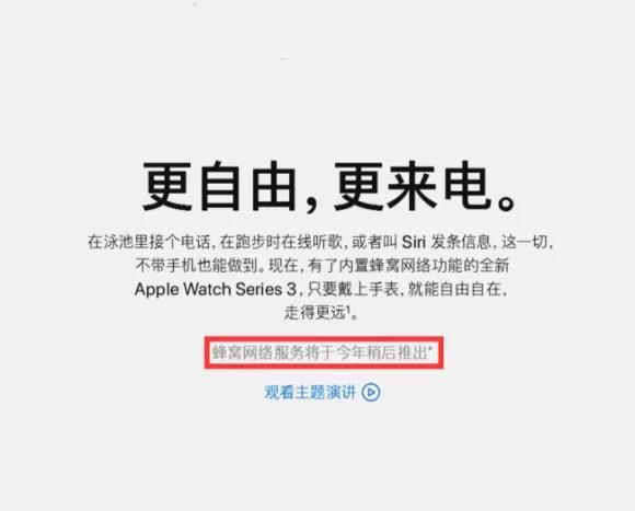 Apple公式ページ販売延期