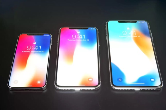 2018 iPhone コンセプトCurved
