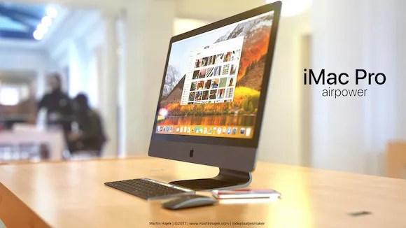 iMac AirPower コンセプト Martin Hajek
