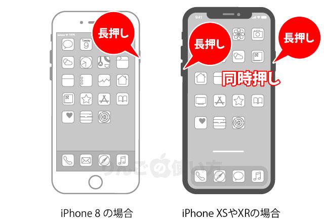 イレブン 切り 方 電源 iphone