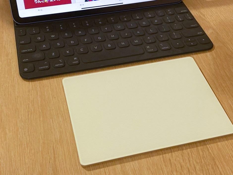 iPadでMagic Trackpadを使ってみる