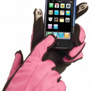 gants isotoner iPhone
