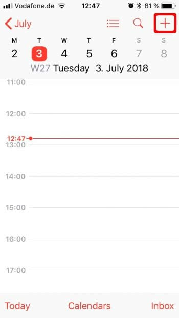 How to Add Recurring Events to iPhone Calendar