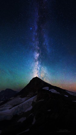 Galaxy S7 Fall Wallpaper Papers Co Na20 Mountain Aurora Sky Night Star Nature Milky