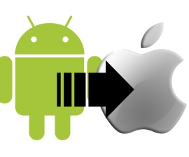moving android to iphone
