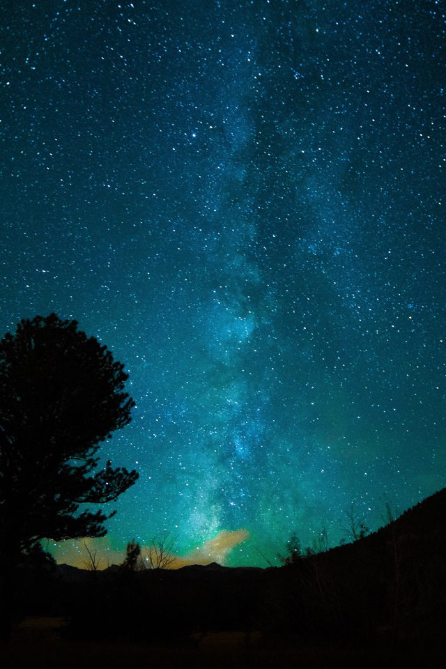 Iphone Wallpaper Quotes Love Aurora Night Sky Star Space Nature Dark Iphone 7 Wallpaper