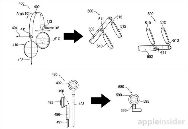 Apple patenta unos auriculares que pueden transformarse en