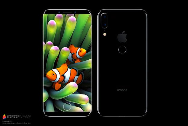 iPhone_8_Touch_ID So it works a SmartPhone with fingerprint integrated in the display, and it is not of Apple ... [Video] Technology