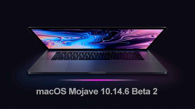 macOS Mojave 10.14.6 ©Beta 2