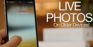 Enable Live Photos on iPhone 6, 5S, 5, iPad 2 (PhotosLive Tweak)