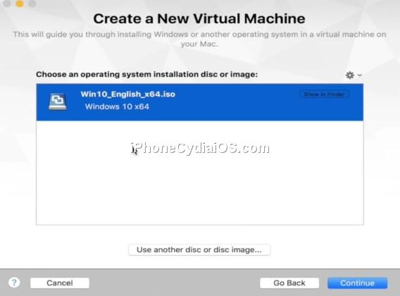 VMware Fusion 8 - Create a New Virtual Machine - Win10 ISO
