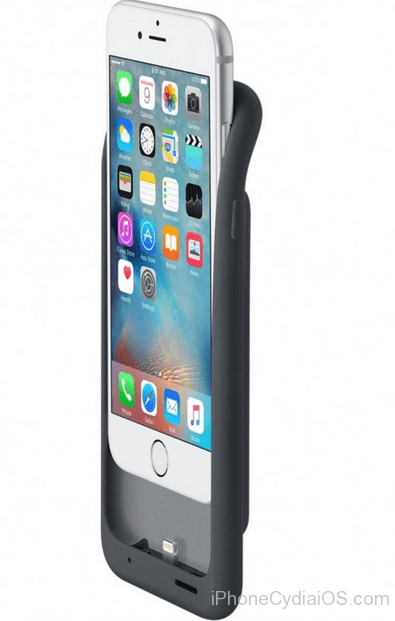 iPhone 6s Smart Battery Case - inserting iPhone