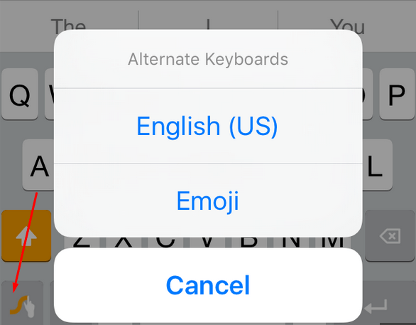 Alternate Keyboards with LetMeSwitch - Switch