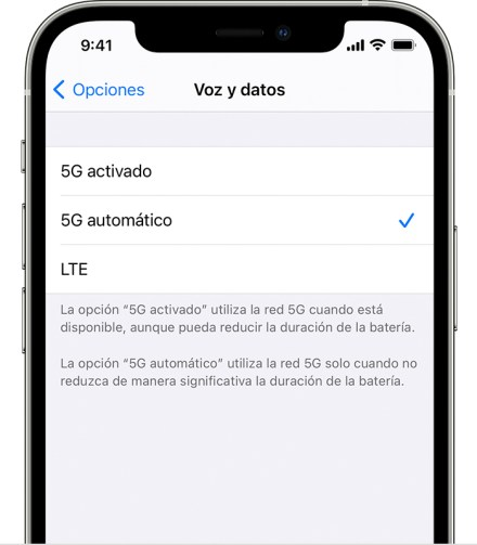 ios14 iphone12 pro settings cellular cellular data options voice data 1