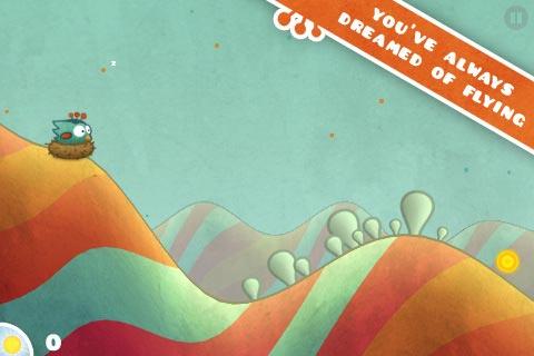 Tiny Wings - Game Review: jogos viciantes para o iPhone