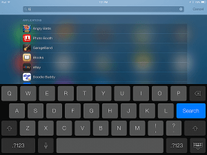 iPad Tips and Tricks - Utilize Spotlight Search to Find Everything Quickly