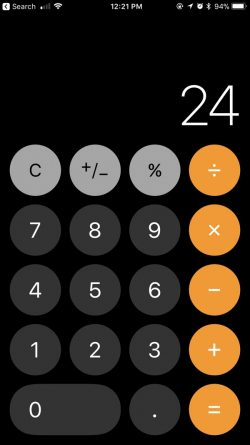 iOS 11 Problems - Wrong Calculation