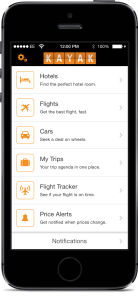 Best Travel Apps for iPhone - Kayak