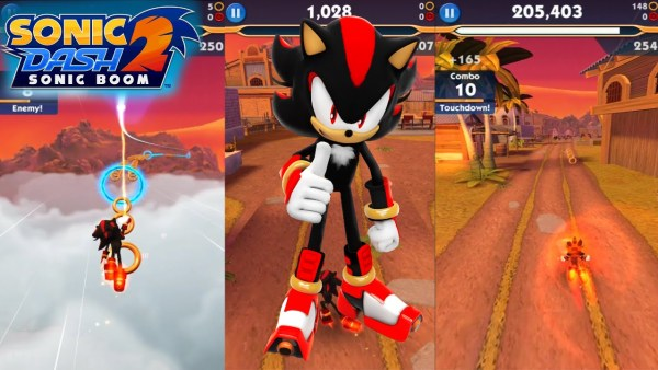 #10 in Our List of the Free Game Apps for iPhone – Sonic Dash 2 Sonic Boom
