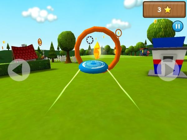 #6 in Our List of the Free Game Apps for iPhone – Frisbee Forever