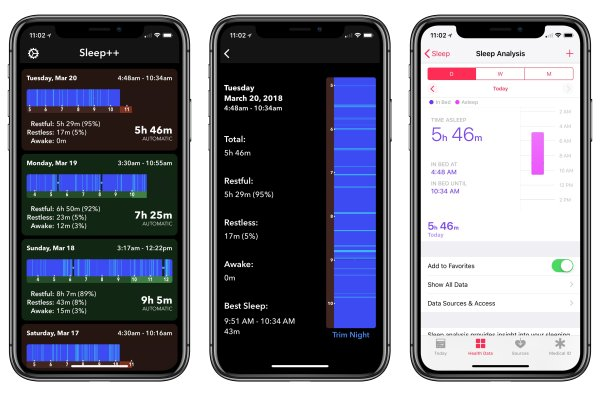 2. Pillow – Sleep Monitor App List