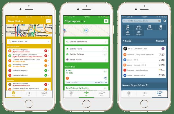Best Free Apps for iPhone - Citymapper Transit Navigation
