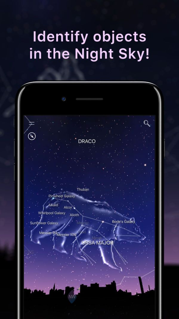 Best Free Apps for iPhone - Night Sky