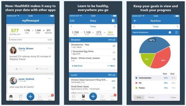 MyFitnessPal - Download Free iPhone Apps