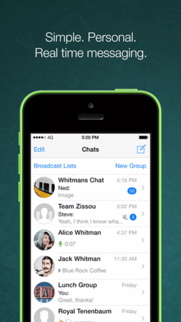 WhatsApp - Download Free iPhone Apps