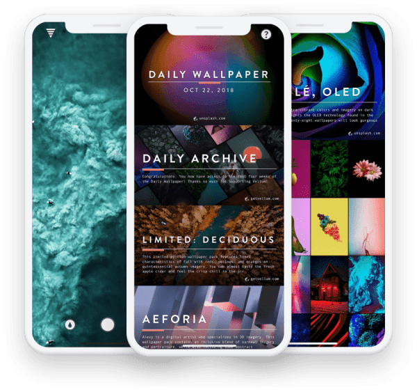 1. Vellum – The No. 1 App for Getting the Best iPhone Wallpapers