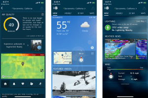 6. WeatherBug – Top Rated Weather App for iPhone for Knowing the Impact on Your Lifestyle