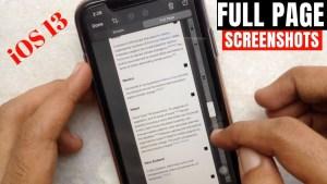 16. Take Full-Page Screenshot