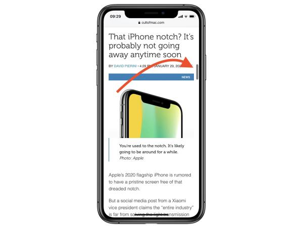 19. Scroll Faster on Safari with the New Scroll Bar
