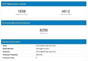 A14 Processor Showing Impressive Benchmark Results, Rumored to Surpass 3 GHz Mark