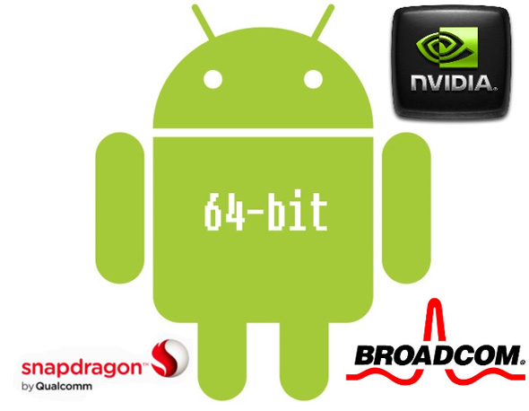 Android-64-bits-qualcomm-nvidia