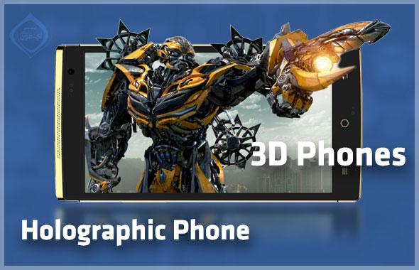 Holographic-phone